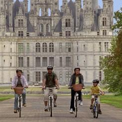 Découvrez Chambord en vélo en famille