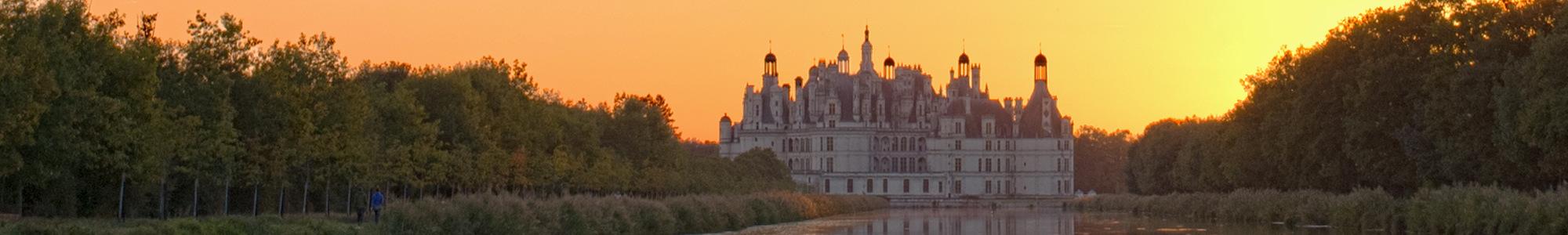 visitez un des plus beaux châteaux de la Loire : Chambord