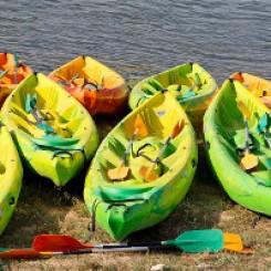 Le canoë sur la Loire : une des activités sportives du gite