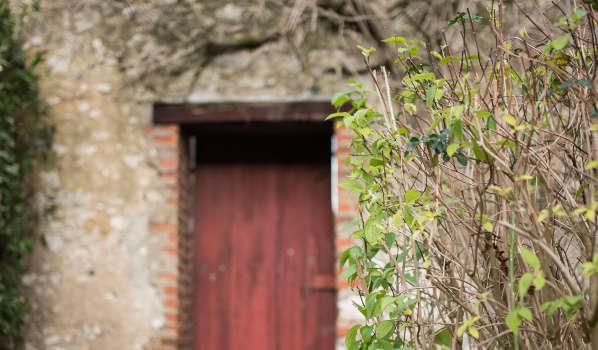 le gite de l'Hermine et son jardin secret