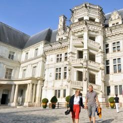 chateau de Blois près du gite de groupe