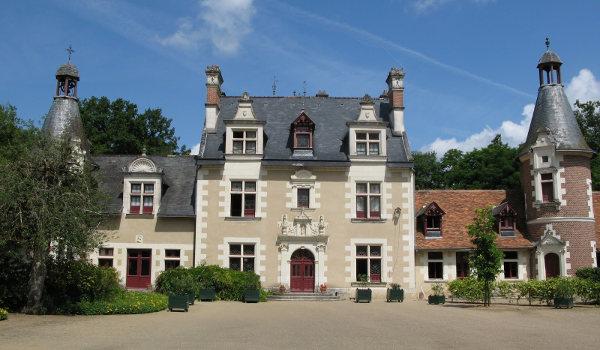 chateau de Troussay proche du gite