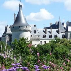 Chateau de Chaumont près du gite de groupe