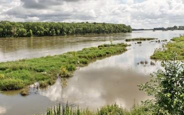 vue de la Loire proche gite de groupe
