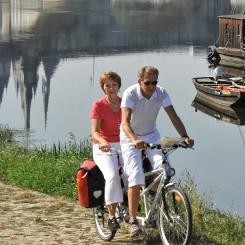 La Loire à vélo au gite de groupe