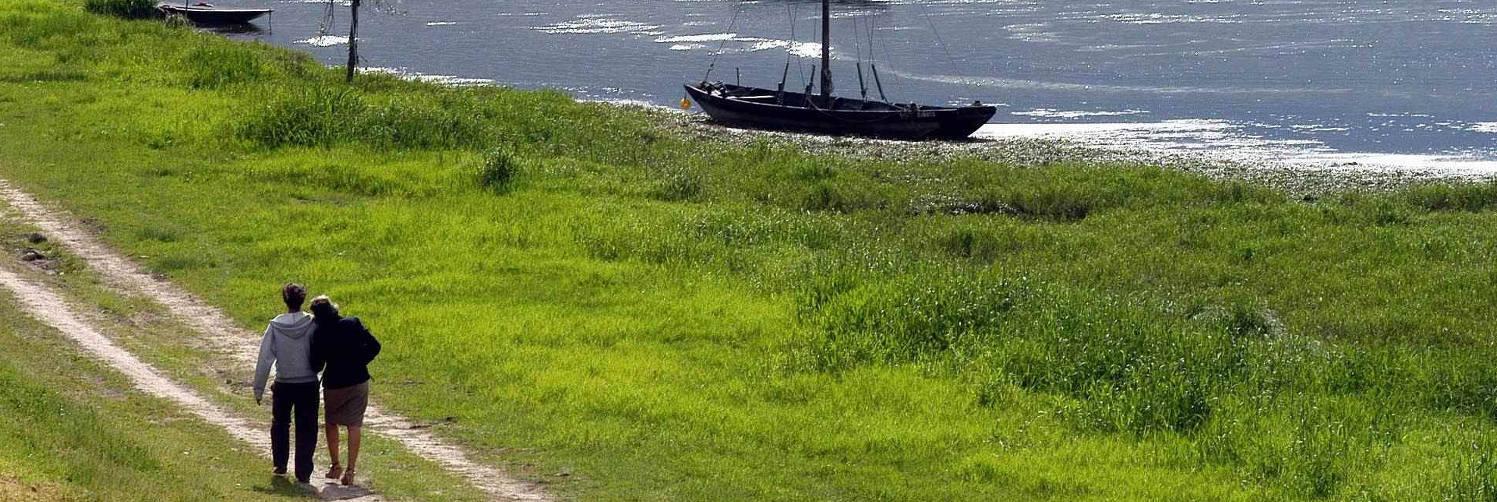 Balade en amoureux sur les bords de Loire