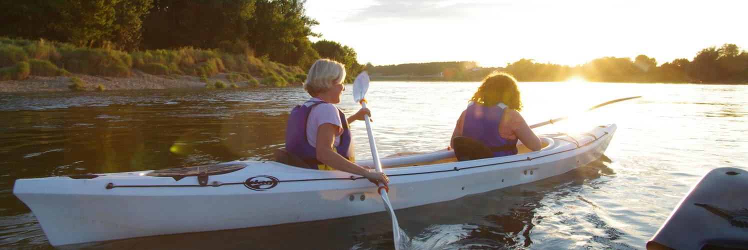Baladez vous sur la Loire en Canoe Kayak