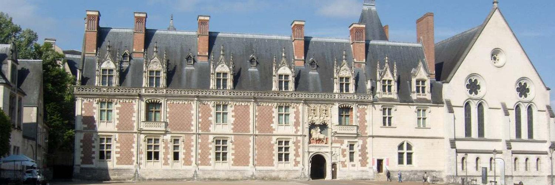 Le château de Blois et sa vieille ville