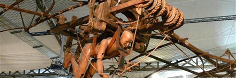 Le Clos Lucé a reproduit les inventions de Léonard de Vinci
