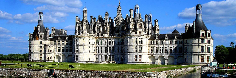 Le château de Chambord fait partie des immanquables de la région centre