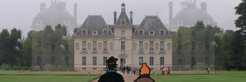 Cheverny est le château du Capitain Haddock dans Tintin