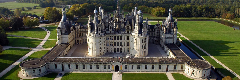 Le château Chambord est proche du gite de groupe