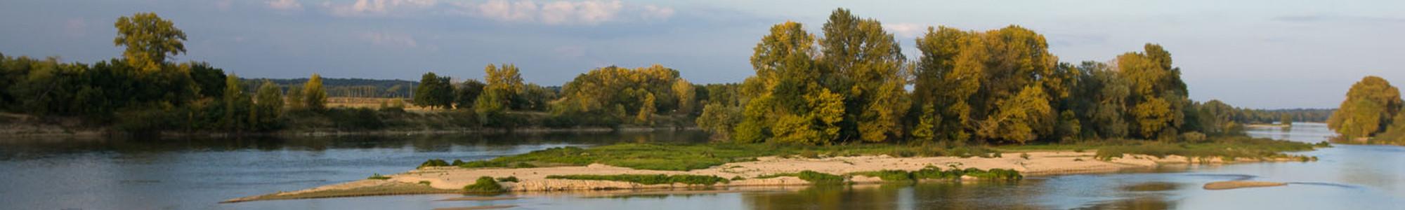 Le gite est dans la vallée de la Loire