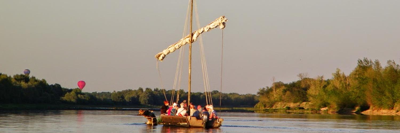 Balade en bateaux à proximité du gite de groupe