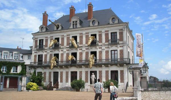 Le gite de groupe est à proximité de la maison de la magie à Blois