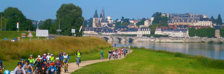Le gite de groupe se trouve sur la Loire à Vélo
