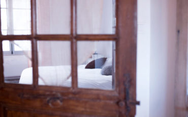 chambre avec cachet et décoration originale