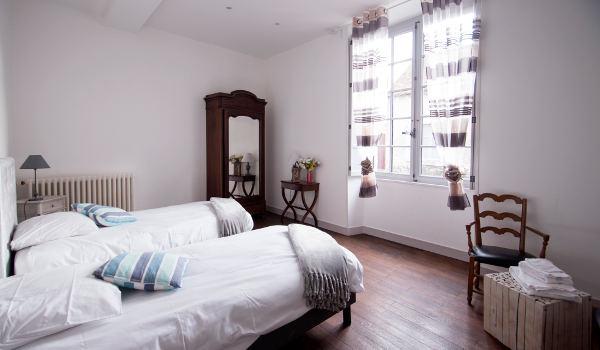 chambre avec lits jumeaux ou lit king size