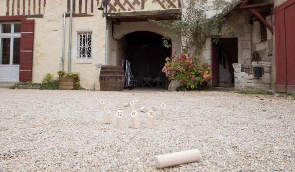 jeux à disposition pour les groupes table de ping pong molky flechettes palets breton petanque