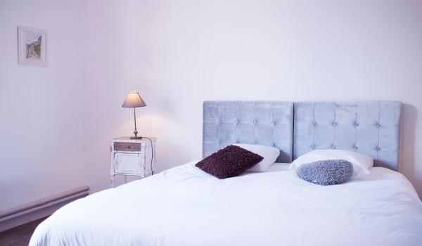 au choix un grand lit king size ou des lits séparés